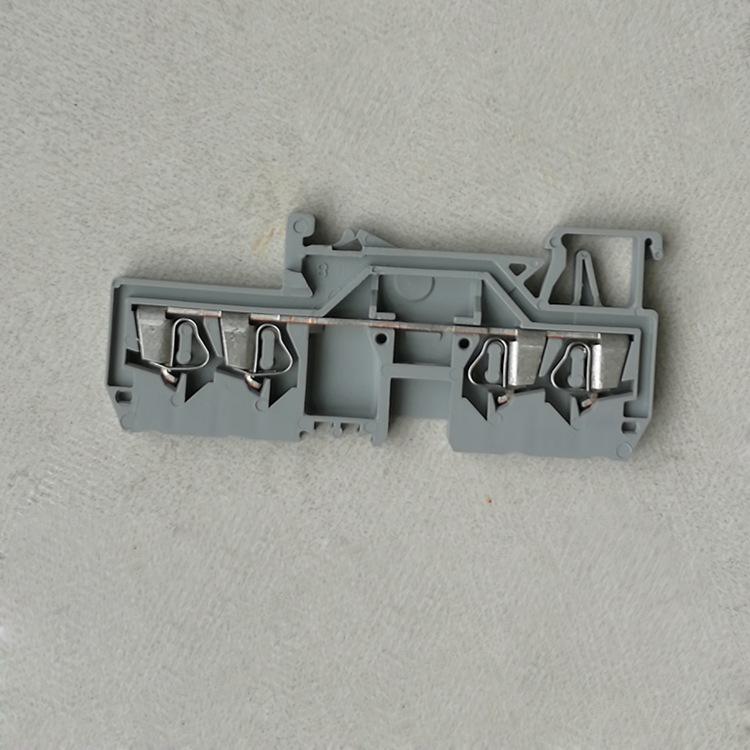 WAGO Cầu đấu dây Domino 280-633 kết nối mảnh đạn thiết bị đầu cuối WAGO phổ biến 4 dòng phổ biến