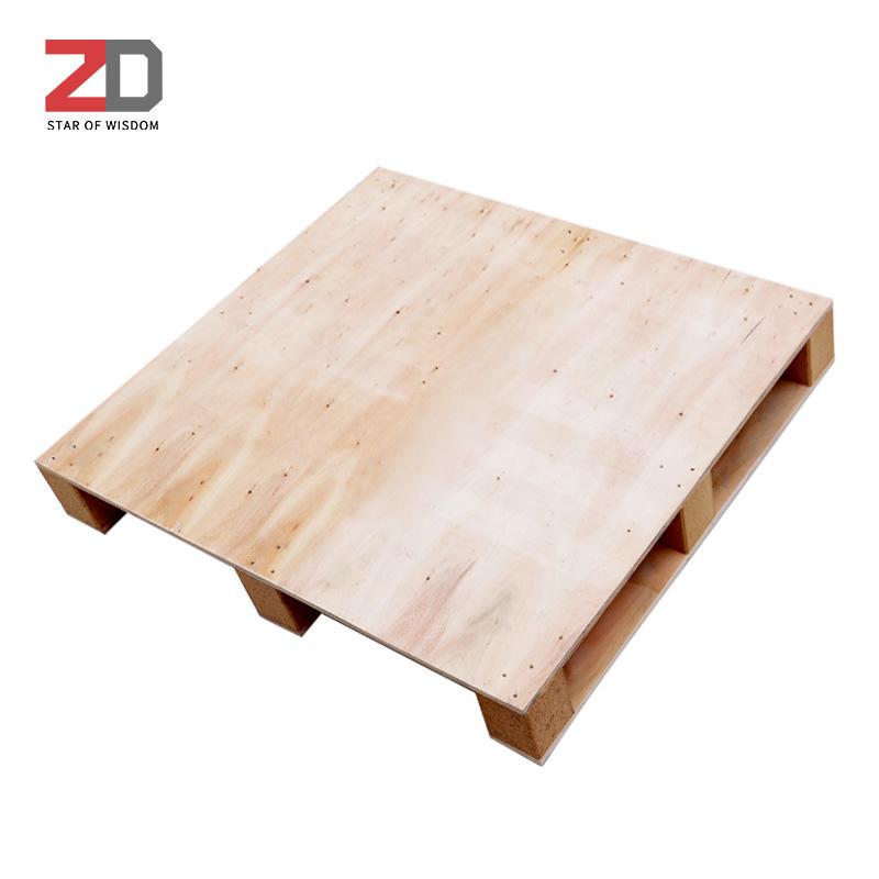 ZHIDUO Mâm nhựa / Pallet nhựa Pallet gỗ Pallet gỗ Pallet pallet gỗ Pallet xe nâng Khử trùng pallet m