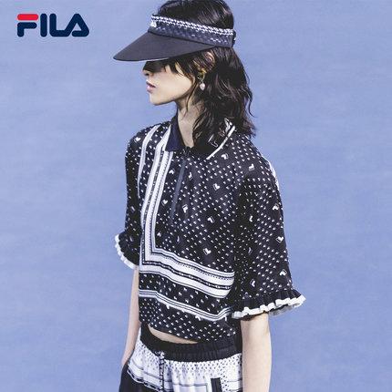 Áo thun FILA X 3.1 Phillip Lim Fila Mars Pure với áo thun nữ mùa hè 2019