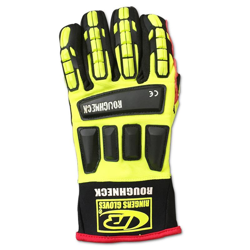 ROUGHNECK Găng tay chống cắt Bảo hiểm lao động cao cấp Dầu mỏ Kevlar bảo vệ chuyên nghiệp Găng tay c