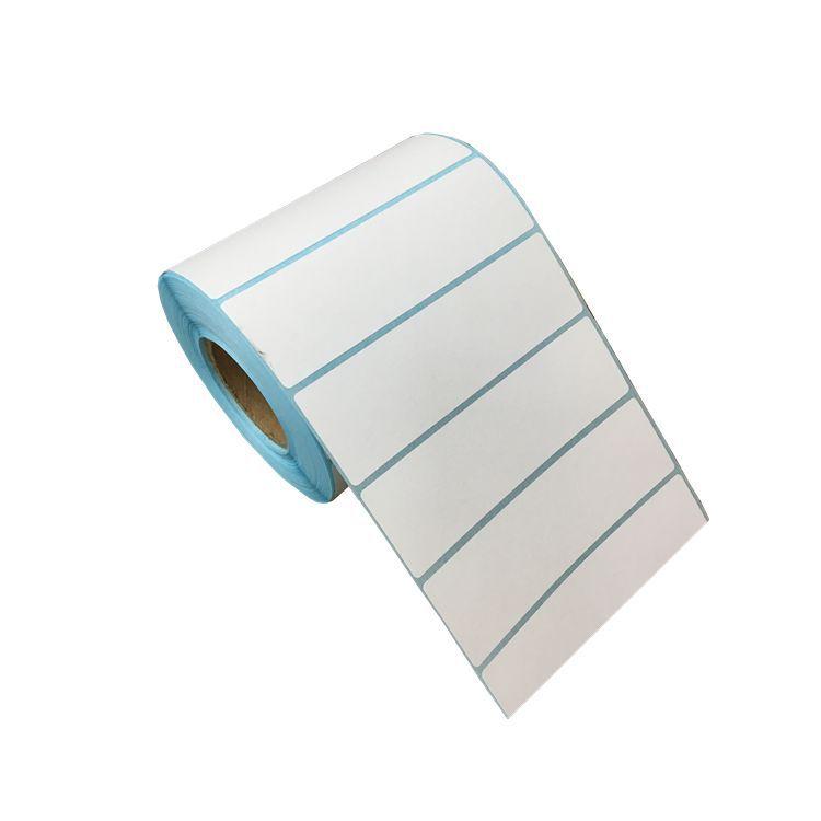 JINNING Tem dán in mã vạch Nhãn dán nhiệt bán buôn tại chỗ 100 * 30 * 1000P phiên bản ngang của nhà