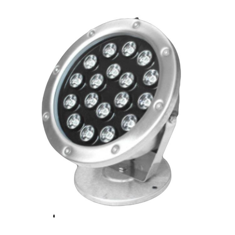 ZHENGFANMIAN Đèn LED âm nước Bán hàng trực tiếp led dưới nước ánh sáng inox đài phun nước vuông vườn