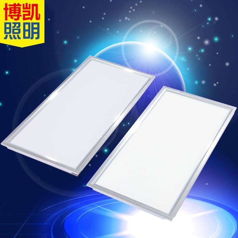 HL Bóng đèn LED trần vuông Nhà máy trực tiếp led bảng điều khiển ánh sáng 600600 siêu sáng 38w tích