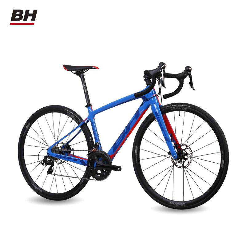 xe đạp BH /Bichi K8 CORTZ DISC 105 11 Tốc độ Sóng Xa Các bon.