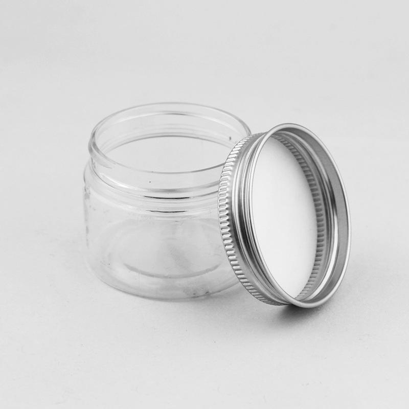 MAIHONG Hũ nhựa 47 miệng miệng 40ml lon nhựa trong suốt bằng nhựa lon tròn niêm phong lon thực phẩm