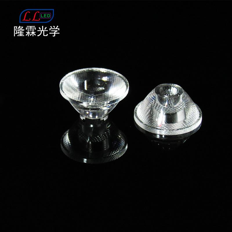 LONGLIN Đèn LED thấu kính Nhà máy trực tiếp 25 độ ánh sáng đèn led ống kính 29.1mm Ống kính LED chốn