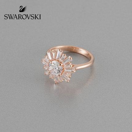 đồ trang trí trang phục Swarovski SunSHINE mẫu mặt trời ấm áp tình yêu nhẫn nhẫn phụ nữ trang sức