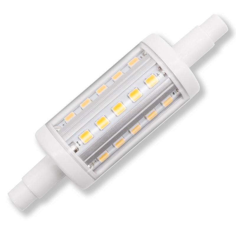 HUASHENGHONG Bóng đèn cắm ngang Nhà máy trực tiếp R7S mới dẫn đèn ngô cắm ngang 85-265V 78mm