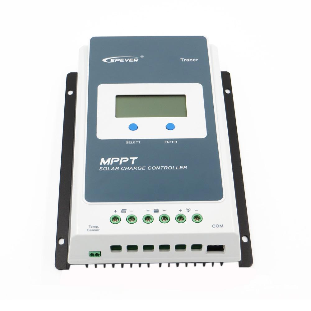 Bộ điều khiển sạc và xả năng lượng mặt trời Tracer4210AN 40A MPPT Màn hình LCD 12V / 24V 4210A