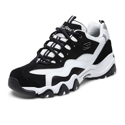 thị trường giày nam Skechers Những người yêu thích SKECHER giày nam giày đế dày đế dày gấu trúc thời