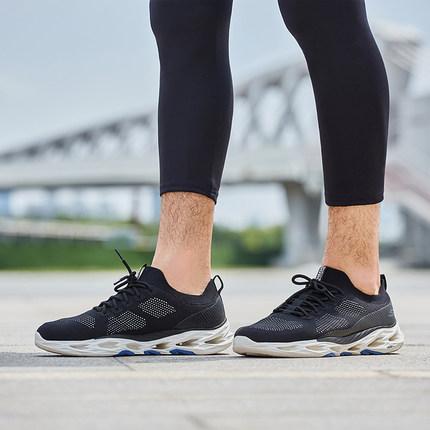 thị trường giày nam Skechers Skechers 2019 giày chạy bộ mới giày chạy bộ lưới thoáng khí giày thể th
