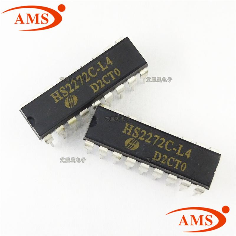 HS IC tích hợp HS2272C-L4 Mạch mã hóa điều khiển từ xa hồng ngoại DIP-18 tích hợp IC Điểm mới