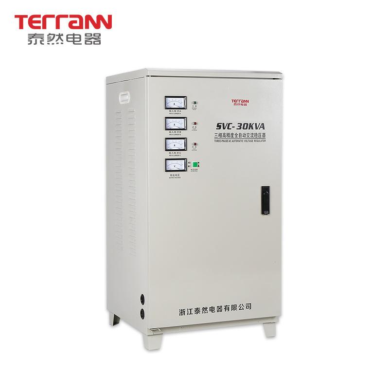 TERRANN - Bộ điều chỉnh điện áp ba pha độ chính xác cao 30KVA Bộ điều chỉnh nguồn 380V