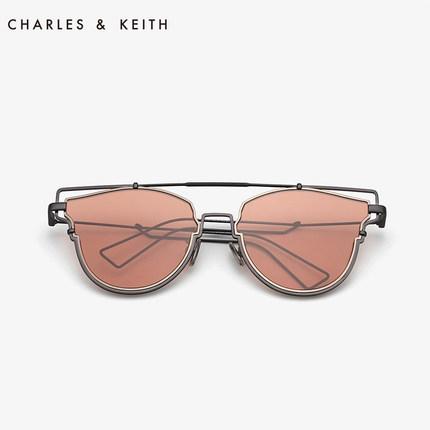 đồ trang trí trang phục  CHARLES & KEITH Kính râm CHARLES & KEITH CK3-11280445 viền kim loại mỏng vi