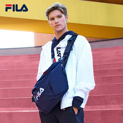 thị trường túi - Vali  FILA FILA Fila Túi đeo vai nam chính thức 2019 Thu mới Xu hướng mới