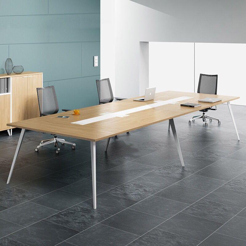 HANYUE Thị trường nội thất văn phòng Đông Quan văn phòng sản xuất nội thất bàn hội nghị đơn giản bàn