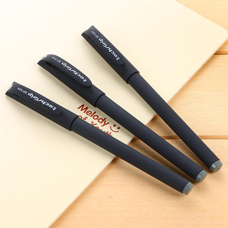 LIUJIN Bút nước Chữ ký văn phòng bút sinh viên quảng cáo bút gel quảng cáo tùy chỉnh logo nhà máy bá