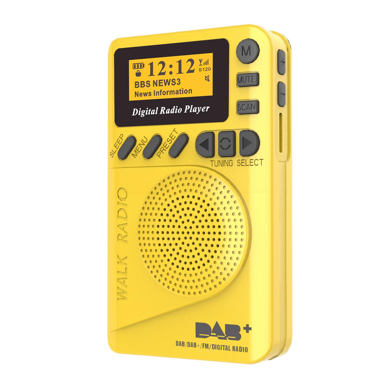 Lontac Máy Radio Đài phát thanh DAB, DAB / FM / card MP3