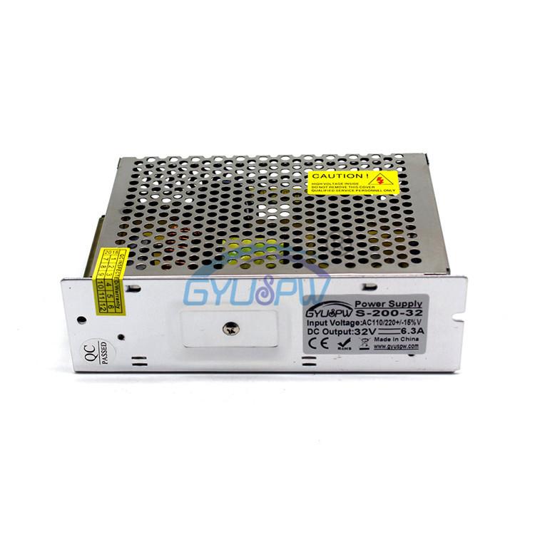 GYUSPW Bộ nguồn chuyển mạch 32V6.3A cung cấp điện chuyển đổi 32V200W