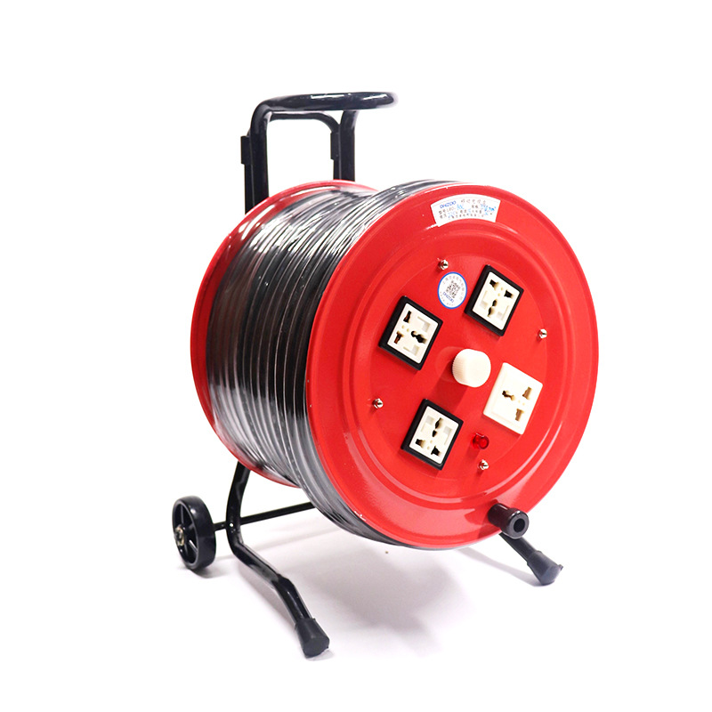 Khay cáp điện di động dạ quang YDX-BX50L 50 mét