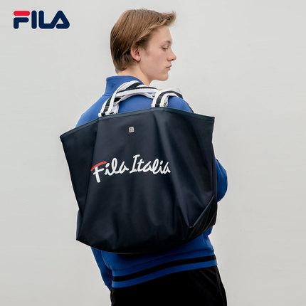 thị trường túi - Vali  FILA FILA Fila Túi nữ chính thức 2019 Mùa thu Logo mới In Túi vải vai
