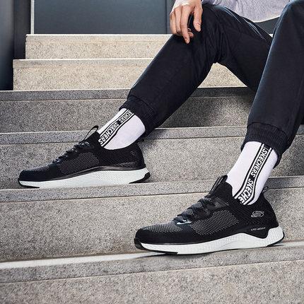thị trường giày nam  Skechers Những người yêu thích SKECHER giày nam một chân che giày lười giày nhỏ