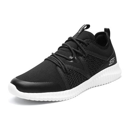 thị trường giày nam Skechers SKECHER đôi giày nam giày lưới thoáng khí giày thể thao quai ngang giày