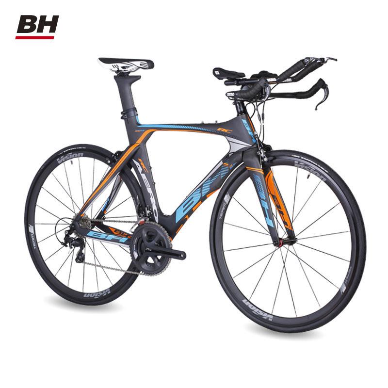 xe đạp BH /Bichi K8 AELIGHT RC 105 11 Speed Air Carbon Fiter tri -rail Highway Bicycle