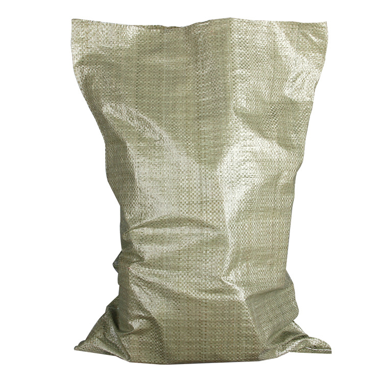 YISEN Bao dệt Xám mỏng nhựa dệt túi da rắn túi hậu cần thể hiện túi rác PP đóng gói túi bao bì