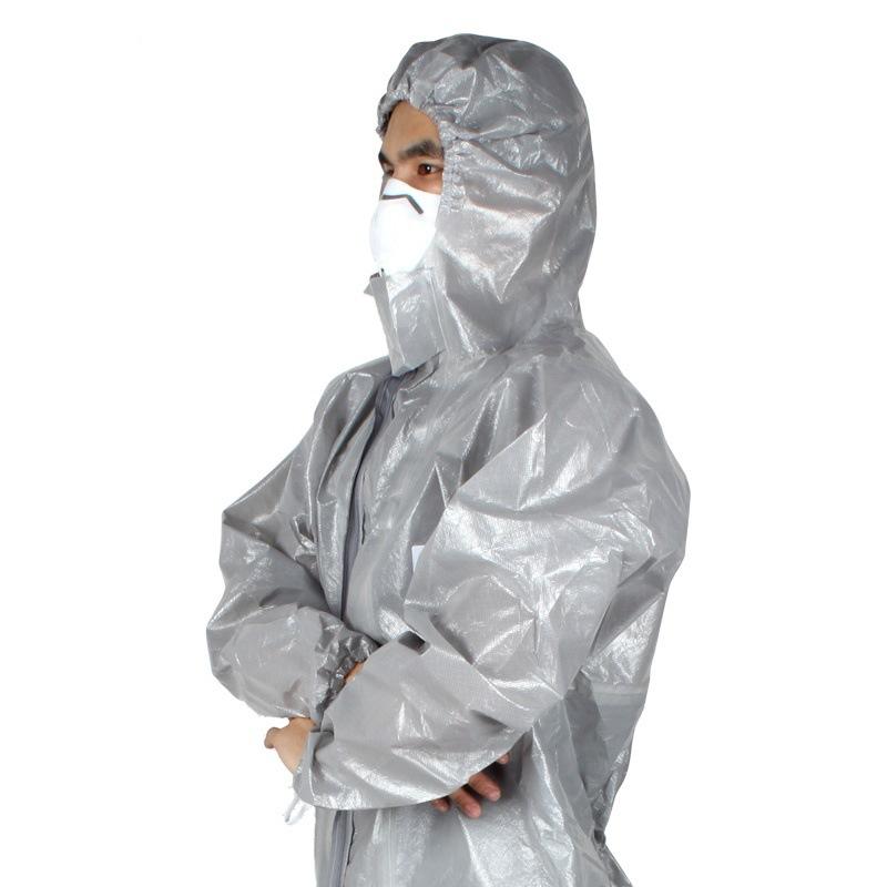 3M Trang phục bảo hộ Quần áo bảo hộ 3M 4570, quần áo bảo hộ hóa học, quần áo chống bụi, mũ một mảnh,