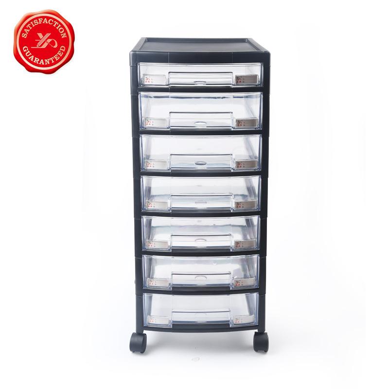 YUANXING Thị trường Đồ dùng văn phòng Yuanxing 7 lớp phổ ròng rọc tủ hồ sơ nhiều lớp ngăn kéo tập ti