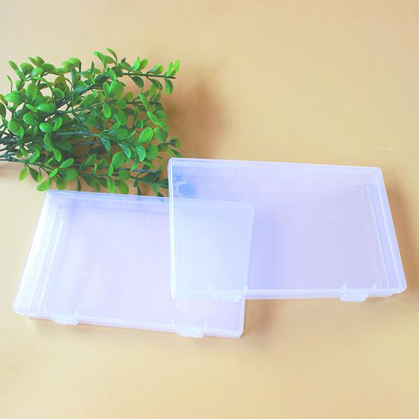 QUANBEI Thị trường bao bì nhựa Trong suốt Hình chữ nhật Hộp nhựa Phần cứng Thành phần Bao bì Hộp rỗn