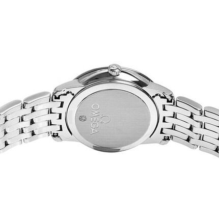 Đồng hồ thông minh  OMEGA Đồng hồ Thụy Sĩ Omega OMEGA đĩa bay loạt thép dây đồng hồ thạch anh nữ 424