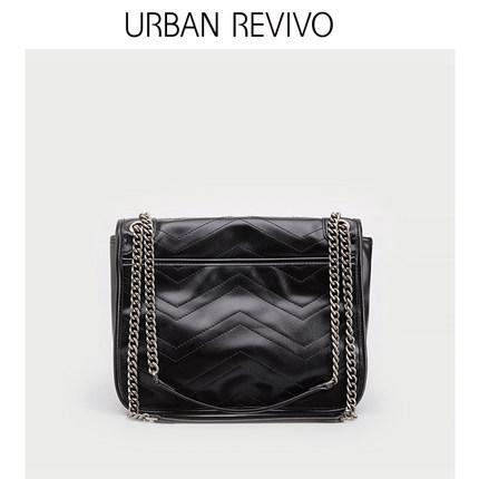 Túi xách nữ thời trang  UR ĐÔ THỊ REVIVO mùa thu phụ nữ mới phụ kiện túi đeo vai AG34SB2N2002
