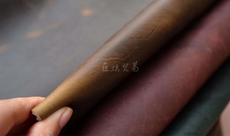 Da ngựa Buôn bán bán bán sỉ nhục cho chăn bò loại vải bằng da dày dày tự làm bằng đôi giày cũ màu: