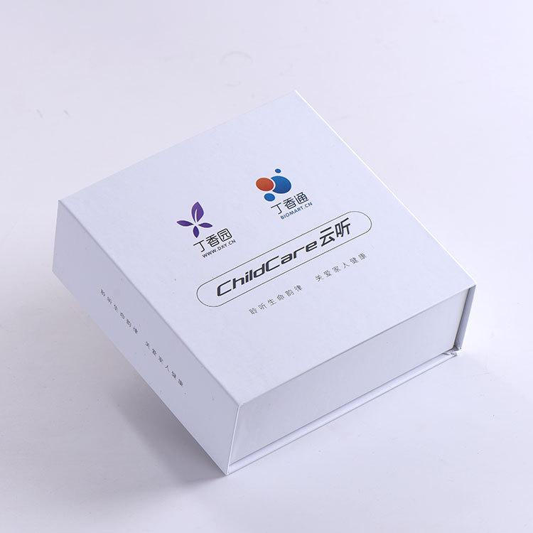 HAICHENG hộp giấy âm dương Thế giới mới bao gồm flip carton tùy chỉnh làm tai nghe hộp điện tử sản p