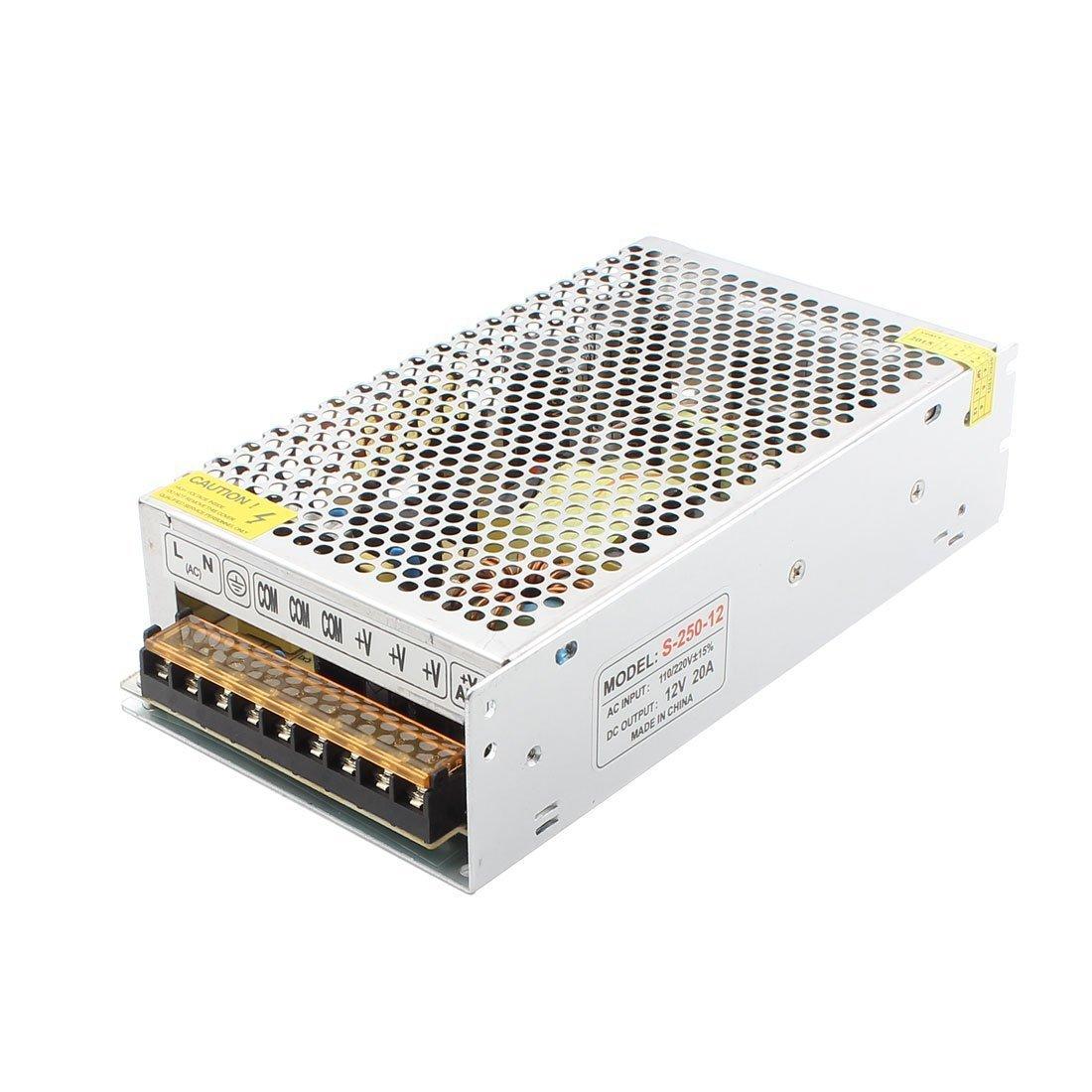 DARUNLAI Bộ nguồn cho đèn LED Giám sát nguồn cung cấp Bộ truyền động LED Bộ nguồn chuyển đổi 240W20A