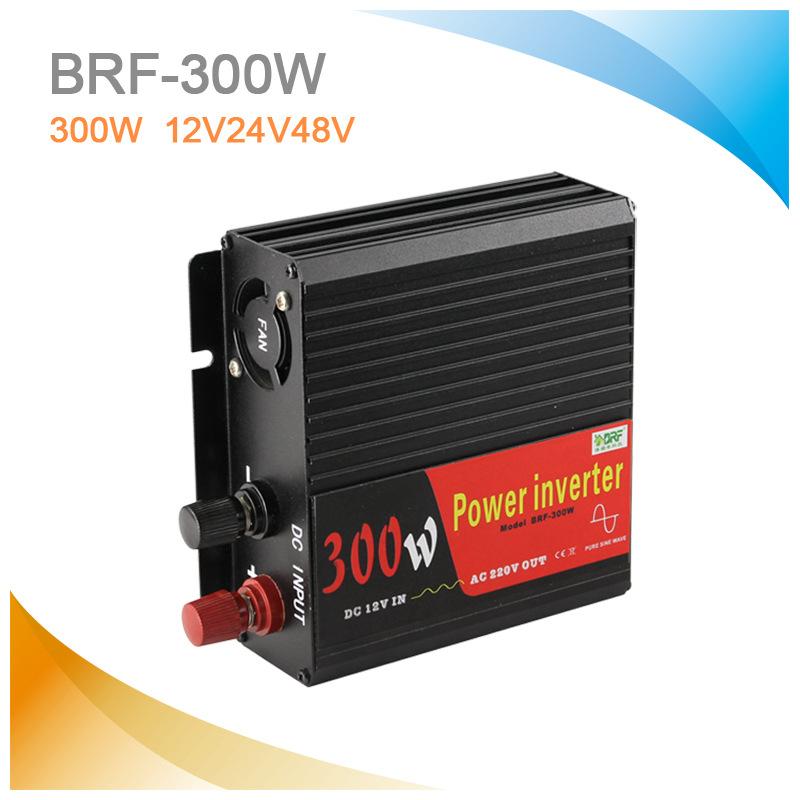Biến tần năng lượng mặt trời Mất điện 300W biến tần sóng sin tinh khiết 12 volt Biến tần 220 volt