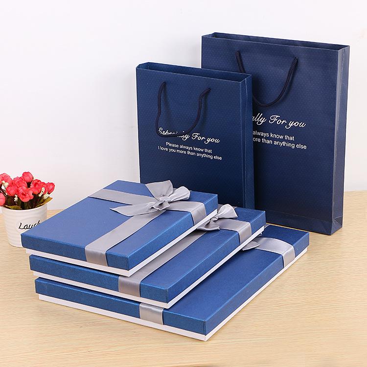 MAILE Hộp giấy bao bì Nhà sản xuất hộp quà tặng tùy chỉnh trời và trái đất bao gồm hộp quà tặng quần