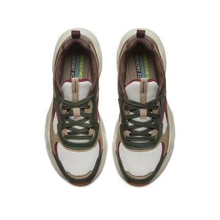 thị trường giày nam Skechers Đôi giày Skechers SKECHER đôi giày nam D'LITES đế dày retro đế cao tăn