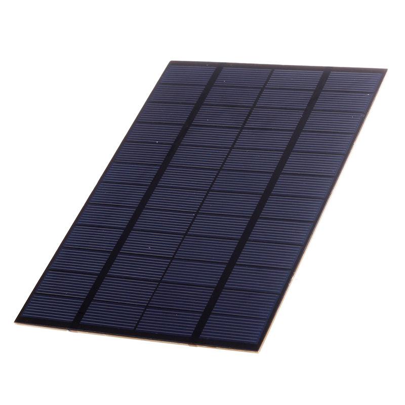 Bảng điều khiển quang điện mặt trời 4.2W 12V Polysilicon PET Solar DIY Bảng nhỏ 200 * 130 * 3 mm