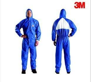 3M Trang phục bảo hộ Khuyến mại 3M4532 + quần áo bảo hộ có mũ trùm đầu được chứng nhận CE Quần áo bả