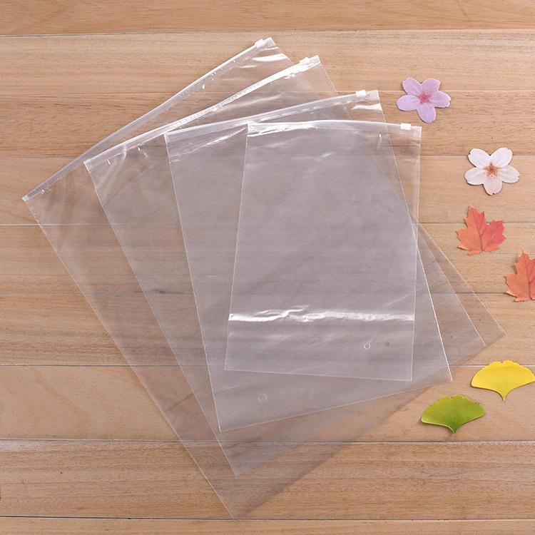 YUXIN Túi PE Bán buôn tại chỗ túi nhựa trong suốt tùy chỉnh túi pe túi có thể được in LOGO tùy chỉnh