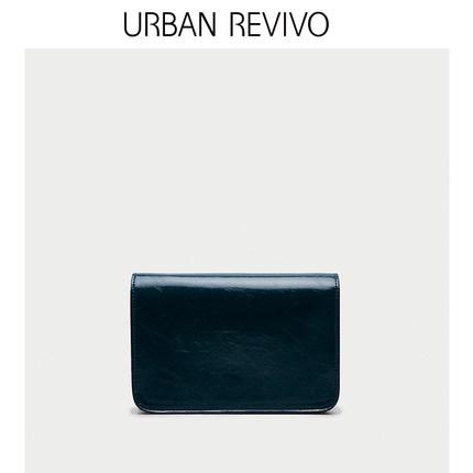 Túi xách nữ thời trang URBAN REVIVO2019 phụ nữ thanh niên mới phụ kiện túi đeo chéo hình thoi AU08RB