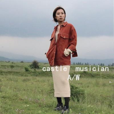 Áo khoác 19 mùa thu mới Hàn Quốc áo khoác denim nữ lỏng lẻo xu hướng thời trang hoang dã áo khoác de
