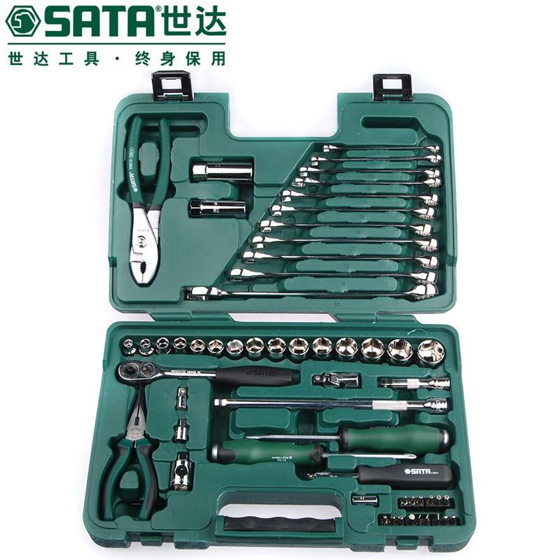 Bộ Sửa chữa cơ khí ô tô SATA / Shida 56 miếng .