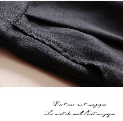 Quần Casual  Mùa xuân và hè 2019 cotton và vải lanh nữ quần ống rộng vải lanh phần mỏng quần giản dị