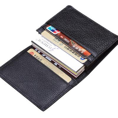 Ví đựng thẻ  Sáng tạo thẻ kinh doanh chủ thẻ da gói thẻ đặt tùy chỉnh hộp kinh doanh hộp da dung lượ