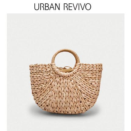 Túi xách nữ thời trang  UR ĐÔ LA REVIVO2019 hè mới dành cho nữ thanh niên phụ kiện dệt túi xách AL2