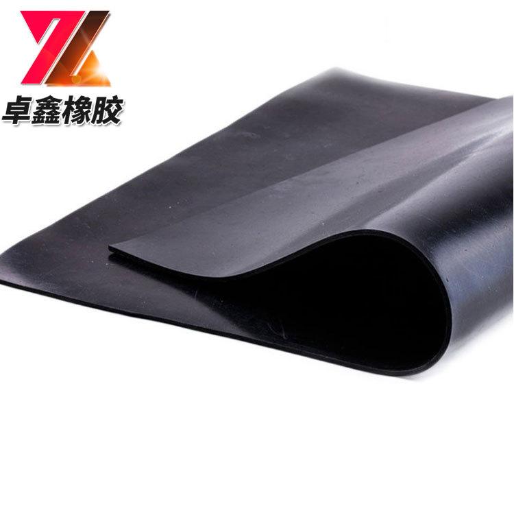 ZHUOXIN Ván cao su Nhà máy sản xuất tấm cao su cách nhiệt trực tiếp 3 mm * 1m * 10 tấm cao su đen cá